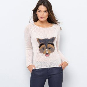 pull raton laveur soft grey 39.99