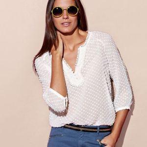blouse plumetis 3s 39.99