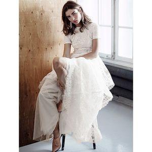 robe longue dentelle 399