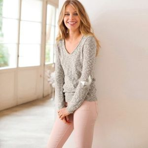 pull chiné soft grey 39.99