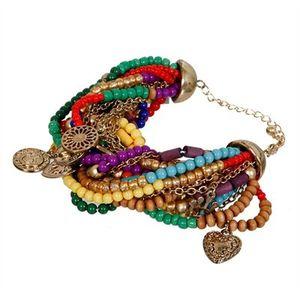 bracelet multicolore pimkie 7.99