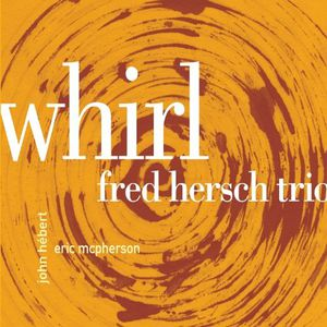 Fred Hersch Whirl, cover