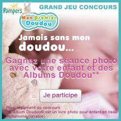 Bagde concours Jamais sans mon doudou
