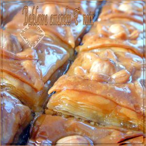 Baklawa amandes et noix photo 1