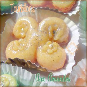 Tourbillons aux amandes photo 2