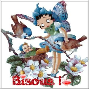 bisous betty boop