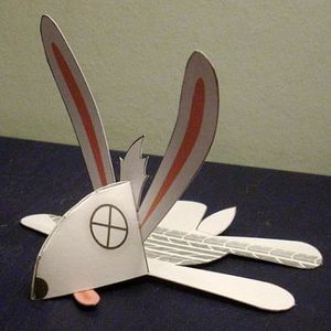 Papertoys by Craig Russel Woadkill Wabbit