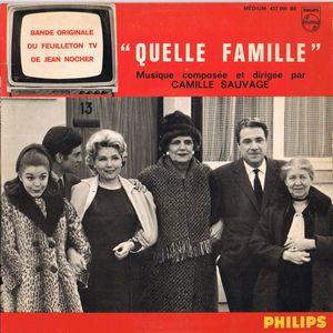 QUELLE FAMILLE 45T