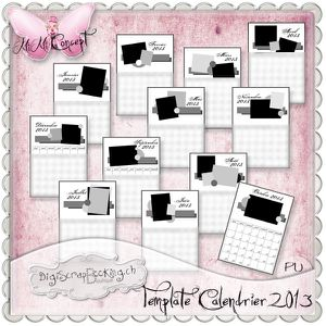 MiMiConcept-Template Calendrier 2013 -pv