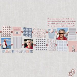 Sue Isabelle patchwork 1 red