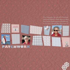 Sue Isabelle patchwork 2 red