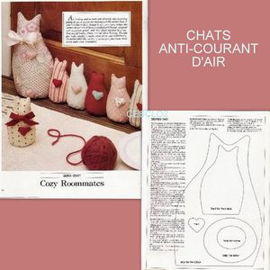 Tuto chats anti courant d 39 air blog de cesclo2 - Comment faire un cale porte en tissus ...