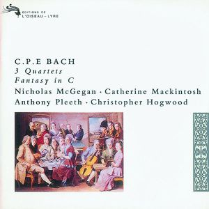 CPE Bach Quatuors Fantasie Christopher Hogwood