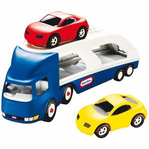 camion transporteur de little tikes d s 18 mois le. Black Bedroom Furniture Sets. Home Design Ideas