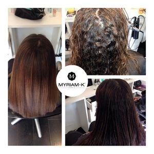 Lissage fran ais myriam k salon emmanuelle coiffure for Myriam k salon