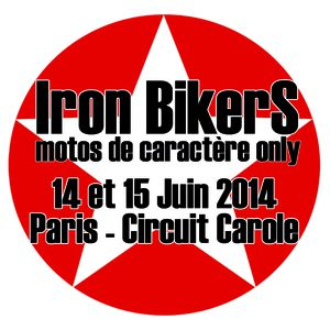 Iron Bikers 2014 Logo