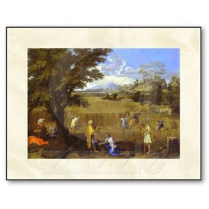 ruth and boaz by nicolas poussin circa 1660 poster-p2285874