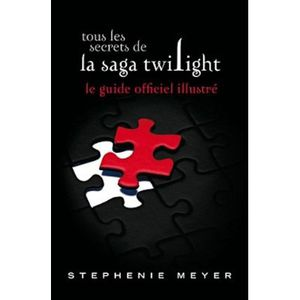 Twilight Saga Illustrated Guide - French Cover