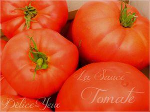 La Sauce Tomate Maison...