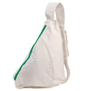 sac a dos objet publicitaire blanc coton 1