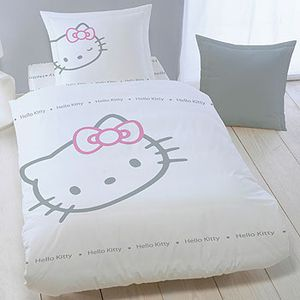 parrure de lit hello kitty pix. Black Bedroom Furniture Sets. Home Design Ideas