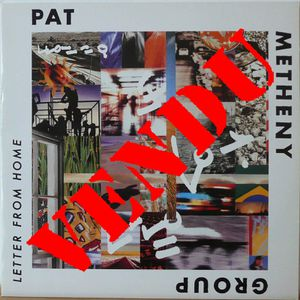 Pat Metheny Letter From Home 33t 1a