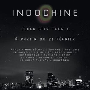Black City Tour 1 - dates