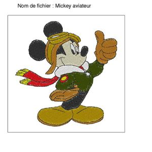 Mickey aviateur