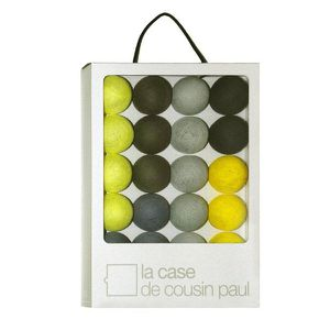 des guirlandes en coffret chez la case de cousin paul le blog de. Black Bedroom Furniture Sets. Home Design Ideas