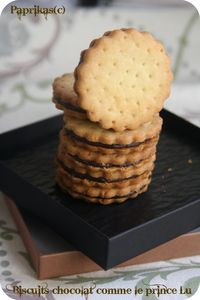 BISCUITS CHOCOLAT COMME LE PRINCE LU
