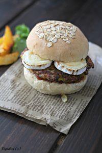 Burger aux Galettes de Légumes et Un Livre à Gagner
