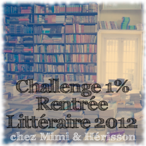 challenge rentrée littéraire 2012