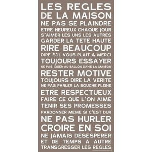 les r gles de la maison en cadeau anniversaire 30 ans des id es cadeau texte citation. Black Bedroom Furniture Sets. Home Design Ideas