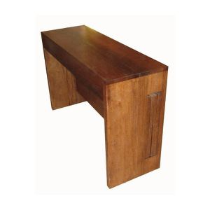 Fabrication d 39 une console extensible allonges int gr es meubles delor f - Console bureau extensible ...