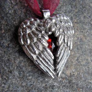 bijoux pendentif collier coeur ange style ancien m-copie-6