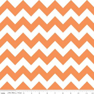 CHEVRON MEDIUM ORANGE - RILEY BLAKE