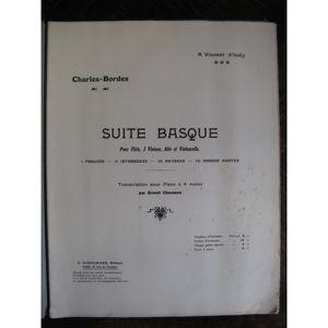 p.1, partition Suite basque