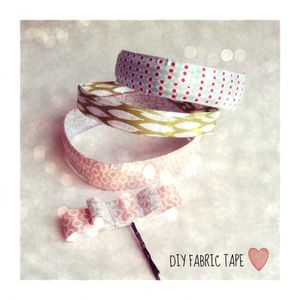 bracelets DIY fabric tape