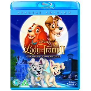Lady and the Tramp 2 Scamp's Adventure [Blu-ray][Region Fre