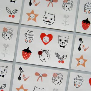 Stickers Audrey Jeanne