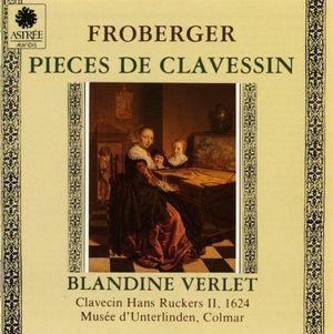 froberger pieces de clavecin blandine verlet 1989