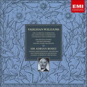 Ralph Vaughan Williams Orchestral works Sir Adrian Boult
