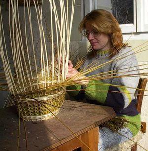cours stages de vannerie osier fabriquer panier sa corbeille avec etienne m 233 t 233 zeau stage