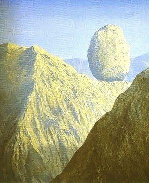 rocher sisyphe en haut de la montagne beuvry 2014