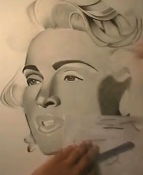 Madonna Speed Drawing by Keeyonardo