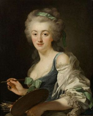 utoportrait – Anne Vallayer Coster (1744-1818)