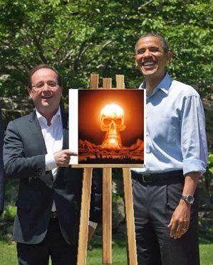 Guerre en Syrie [sujet unique] - Page 6 Hollande-obama