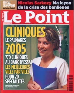 Le point, n&#xB0; de D&#xE9;cembre 2005 par Jacques DUPONT