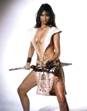At the Earths Core caroline Munro