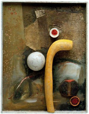 14 Schwitters 40-47 Fredlyst with yellow artificial bone